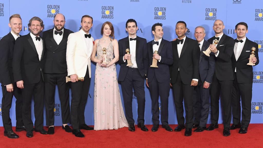 «La La Land» konnte schon bei den Golden Globes abräumen.