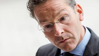 Er macht Druck auf Griechenland: Eurogruppenchef Jeroen Dijsselbloem am Montag in Luxemburg.