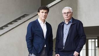 «Wir brauchen mehr Aufsichtspersonal». Josef Helfenstein (links) und Wolfgang Giese im Kunstmuseum.