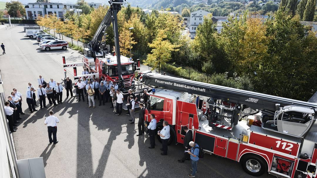 Neuer Hubretter für die Baselbieter Feuerwehr