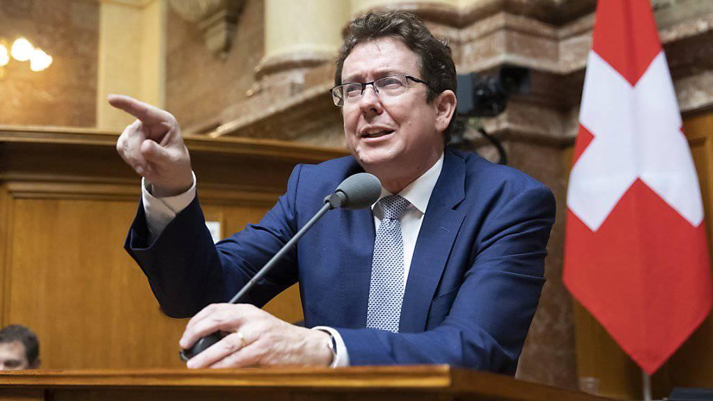 «Das versteht doch niemand»: SVP-Parteipräsident Albert Rösti. (Archivbild)