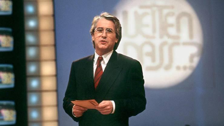 Der ultimative Publikumsmagnet in den 80er-Jahren. Gleich acht Ausgaben schaffen es in die Top 40 der SRF-Sendungen seit 1985. Den Rekord stellte die von Frank Elstner moderierte Samstagabend-Kiste am 12. April 1986 mit 1,829 Millionen Zuschauern auf.