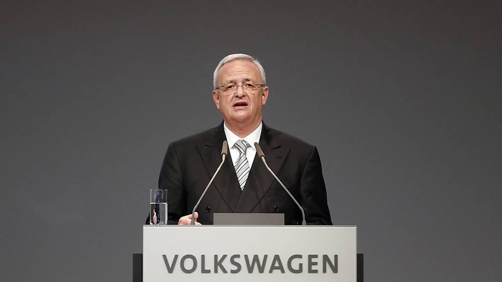 288 Millionen Euro Schadenersatz an VW von Ex-Managern Winterkorn