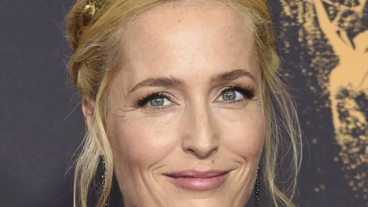 """Nach ihrem ehemaligen """"Akte X""""-Kollegen David Duchovny wird nun auch Gillian Anderson mit einem Hollywood-Stern ausgezeichnet. (Archivbild)"""