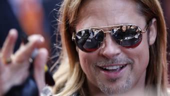 Brad Pitt beglückte Kinogänger (Archiv)