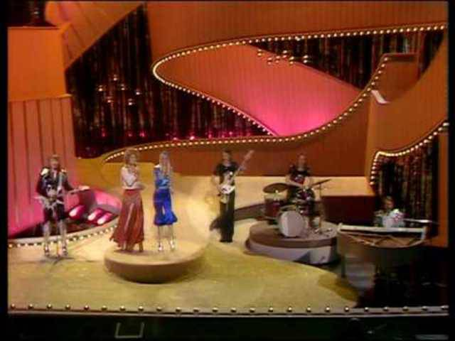 Platz 1 für Schweden, 1974. (ab Minute 0:41)