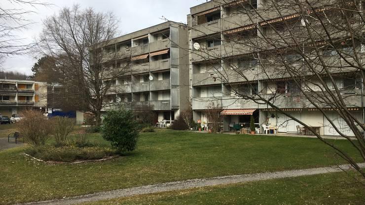 Die Häuser der Alterssiedlung Egelmoos sind in die Jahre gekommen und müssen saniert werden.