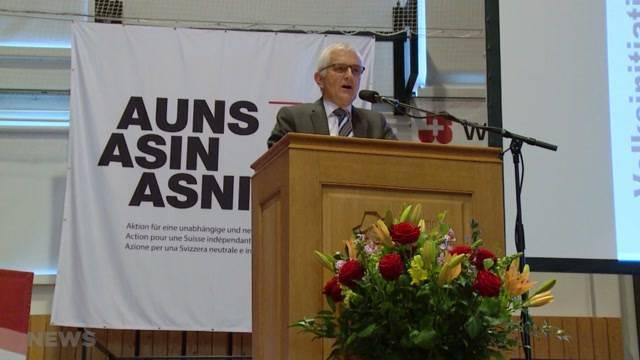 Auns will Beschränkungs-Initiative definitiv lancieren