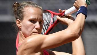 Mit Viktorija Golubic setzt sich am N-Turnier in Biel die Favoritin durch