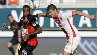 Gehört zum Kreis der haitianischen Nationalmannschaft: FCA-Verteidiger Kim Jaggy.