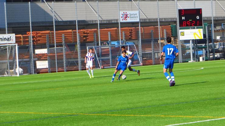 3 : 1 so wie auf der Anzeigetafel war das Endergebnis   FC Frenkendorf : BSC Old Boys BS b