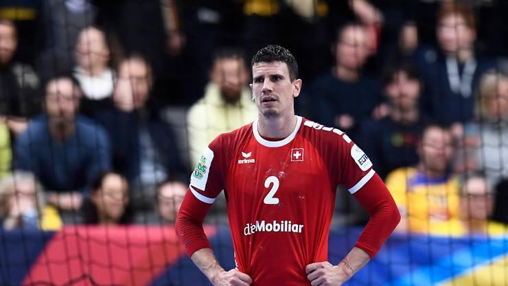 Vorerst kein weiterer Auftritt von Andy Schmid im Nationalteam. Die Schweiz reist nicht zum EM-Qualifikationsspiel nach Dänemark.