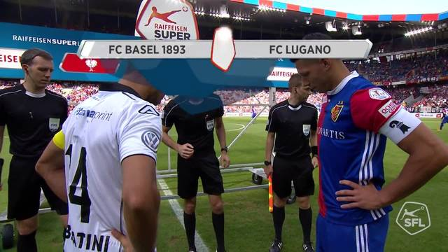 Super League, 2017/18, 5. Runde, FC Basel - FC Lugano, Alle Highlights
