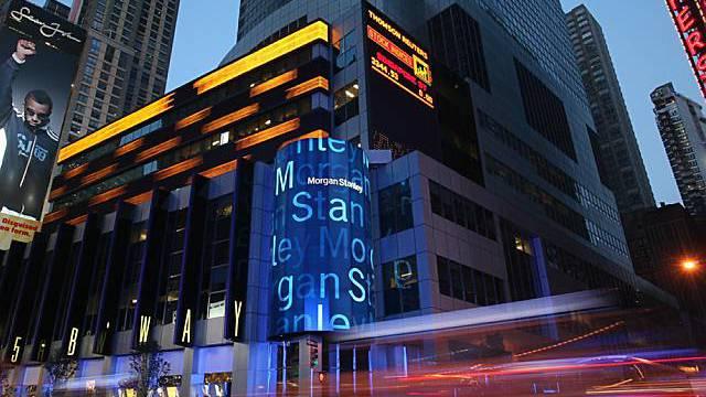Hauptquartier von Morgan Stanley in den USA (Archiv)