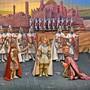 Marionetten der Compagnia Marionettistica Carlo Colla e Figli waren nur eine Attraktion in der Aufführung von Händels «Rinaldo».