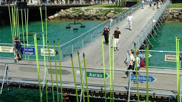 2002 fand im Drei-Seen-Land die bisher letzte Landesausstellung statt.
