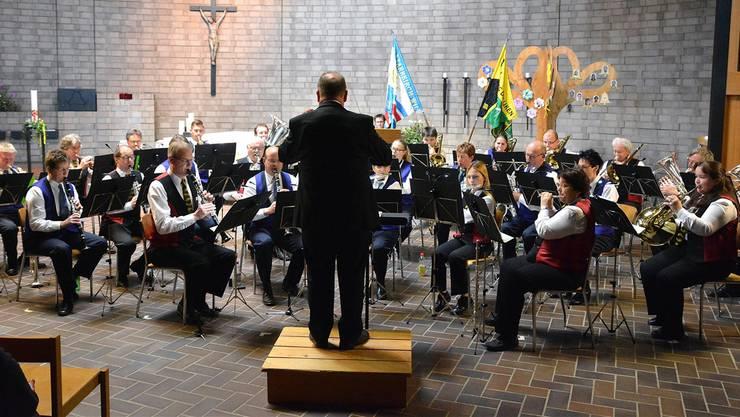 Die Spielgemeinde Dulliken-Starrkirch-Wil mit dem Stück «Hallelujah» von Leonard Cohen. Markus Müller