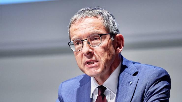 Regierungsrat Urs Hofmann lädt die Wirtschaft zu Corona-Gesprächen ein.