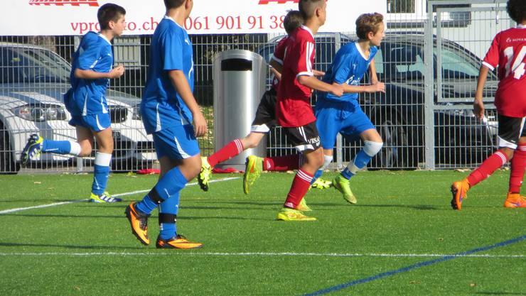 C-Junioren SV Muttenz (rot) FC Frenkendorf (blau)