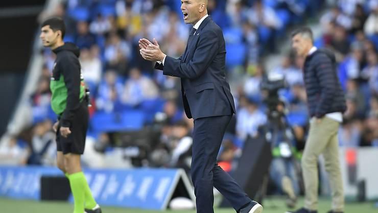 """Zinedine Zidane ist Trainer von Real Madrid, dem """"wertvollsten Fussballklub der Welt"""""""