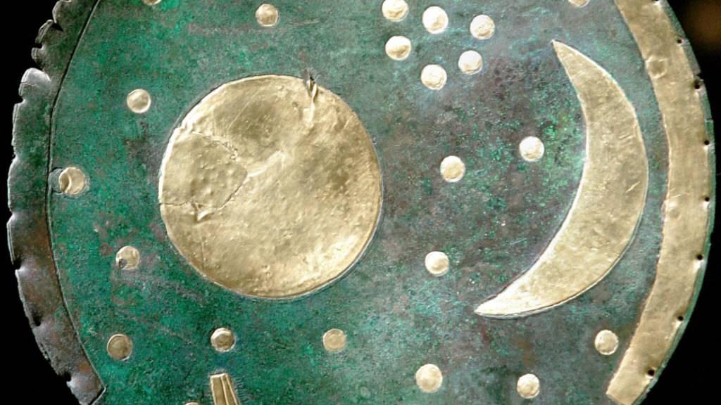 Wissenschaftler zweifeln Alter der Himmelsscheibe von Nebra an