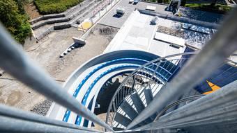 2018 startete der Bau des Sportzentrums, der im Sommer 2019 abgeschlossen wurde. (Archiv)