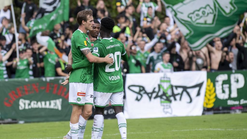 FCSG zieht mit einem 7:2-Sieg in Cup-Achtelfinal – dort wartet Chiasso