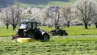 Wegen sinkender Einnahmen in der Landwirtschaft war das Geschäft mit Landmaschinen bei Bucher Industries erneut rückläufig. (Symbolbild)