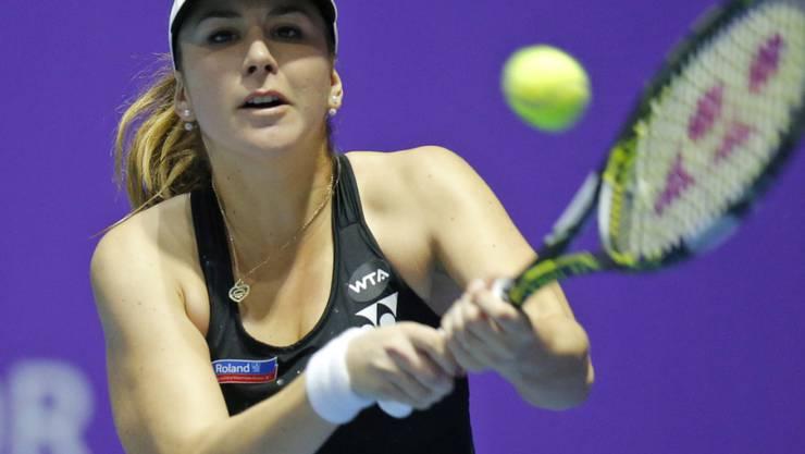 Belinda Bencic ging in ihrem sechsten WTA-Final zum vierten Mal als Verliererin vom Platz