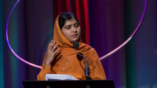 Malala Yousafzai erhält den diesjährigen Sacharow-Preis (Archiv)