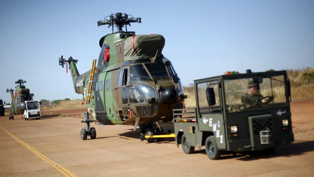 Helikopter-Zusammenstoss in Mali: 13 französische Soldaten tot