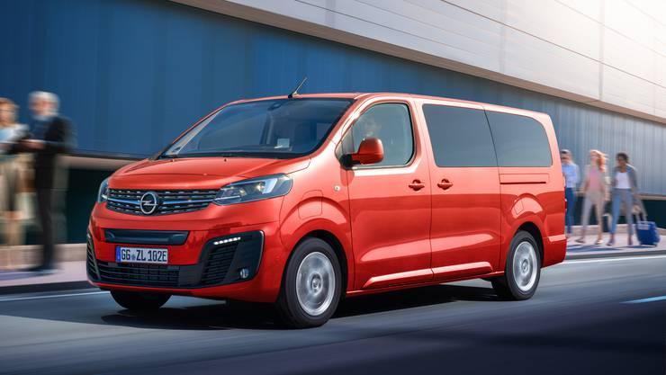 Opel Zafira e-Life