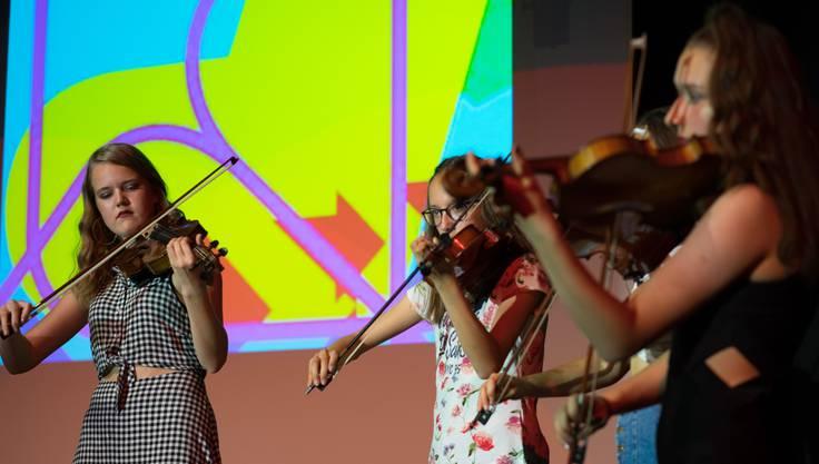 Das Geigenensemble