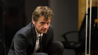 Schriftsteller Christoph Simon tritt am ersten Anlass des Vereins «Kul'tour» in neuen Jahr auf.