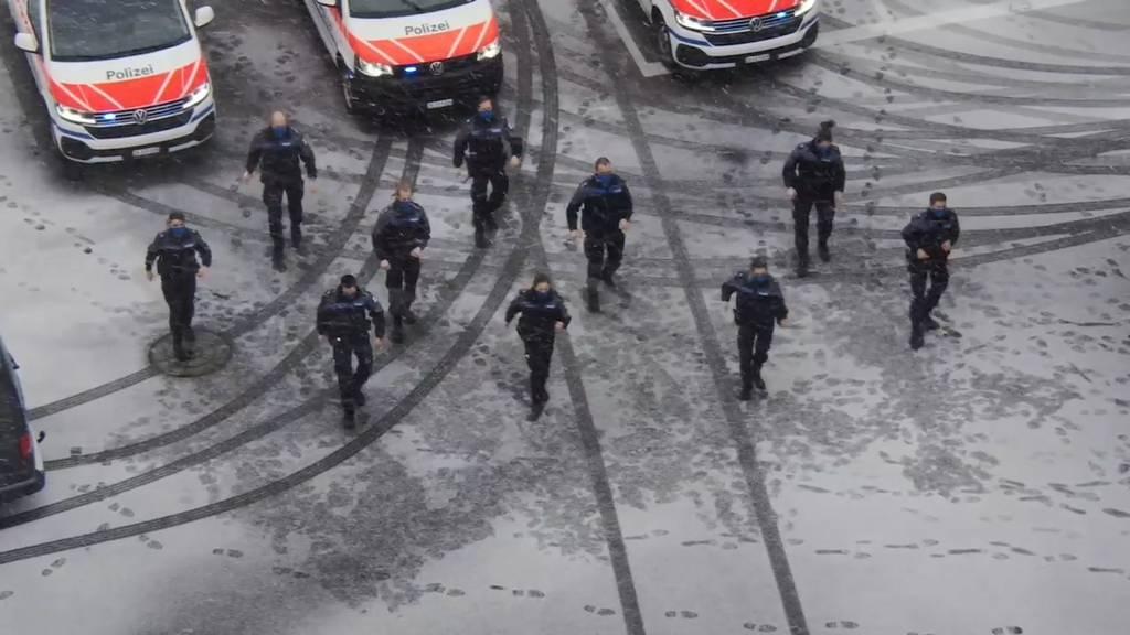 Zuger Polizei meistert «Jerusalema-Challenge»
