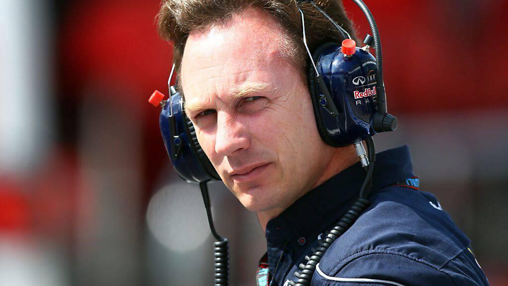 Red-Bull-Teamchef Christian Horner sucht das Personal für die neue Motoren-Abteilung auch bei Konkurrent Mercedes