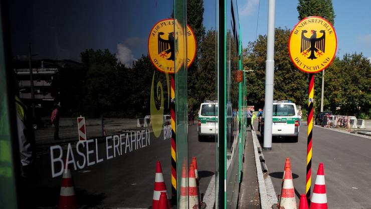 Der 8er an der Grenze zu Deutschland. (Symbolbild)