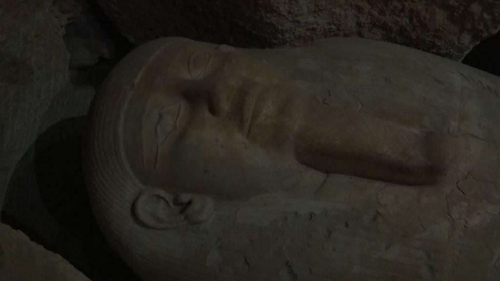 Knapp 3000 Jahre alte Sarkophage in Ägypten entdeckt