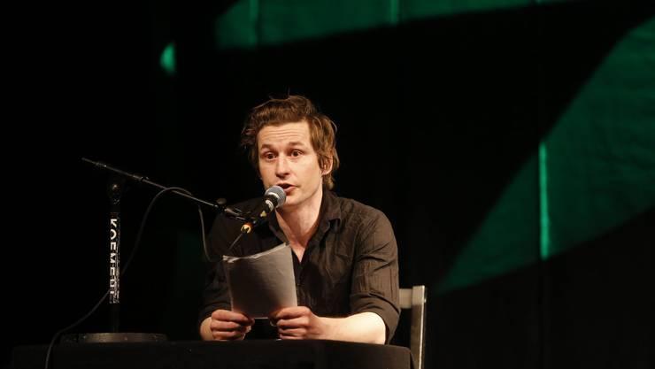 An der Kulturnacht 2014 gastiert Arno Camenisch, schweizerischer Literaturpreisträger, zum ersten Mal in Grenchen.