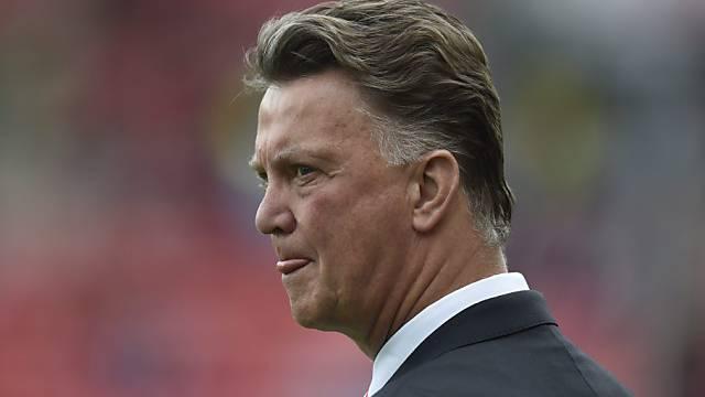 Zwei Premier-League-Spiele und noch ohne Sieg: Louis van Gaal