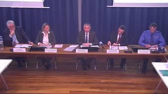Der Regierungsrat informiert über die Lage im Aargau betreffend Corona-Virus.