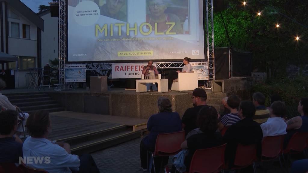 Dokfilm-Premiere über Mitholz löst grosse Emotionen bei Dorfbevölkerung aus