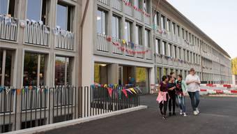 Das sanierte Schulhaus Schibler wurde vor gut zwei Jahren mit einem Fest eingeweiht.