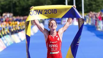 Nicola Spirig, Europameisterin im Triathlon 2018