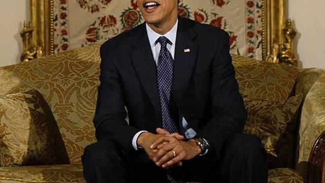 Barack Obama in Istanbul