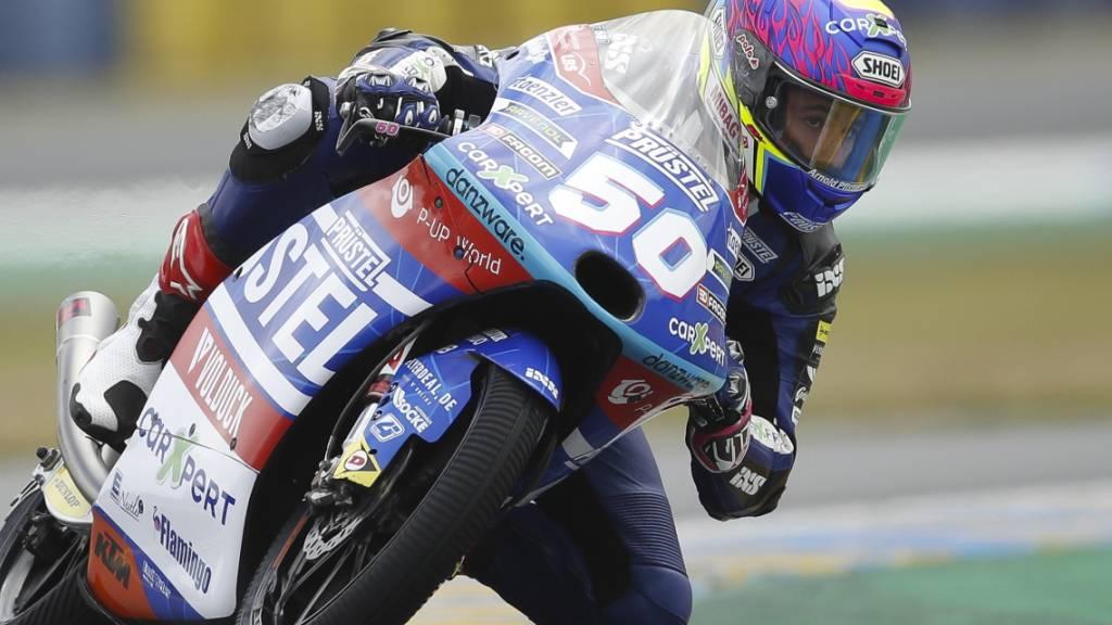 Der Freiburger Jason Dupasquier bestreitet seine zweite Saison in der Moto3