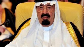 In seinem Land weht für Oppositionelle ein rauher Wind: der Saudische König Abdullah bin Abdul Aziz (Archiv)