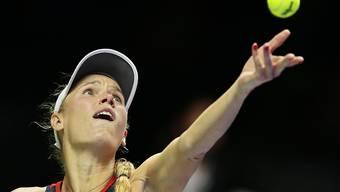 Caroline Wozniacki bei den WTA Finals in Singapur