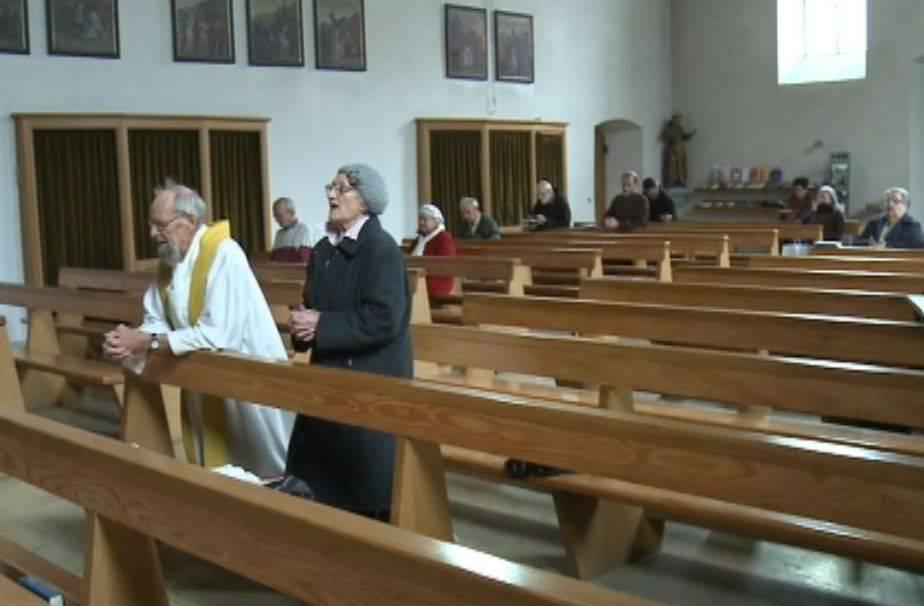 Kapuziner im Kloster in Olten beten für den neuen Papst