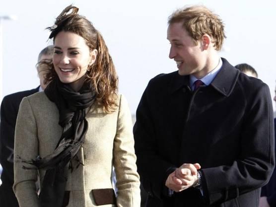 Kate und William gemeinsam auf der walisischen Insel Anglesey